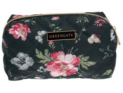 Green Gate kosmetická taška Meadow Black 1