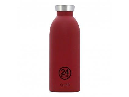 24Bottles nerezová termolahev Clima Bottle Country Red 500 ml 1