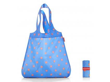 5018f1a514 Reisenthel skládací taška MINI MAXI SHOPPER azure dots 1