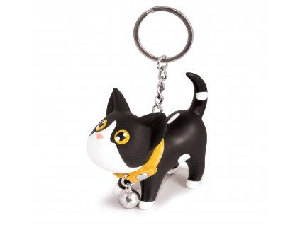 MTM - přívěsek na klíče kočička černá 1