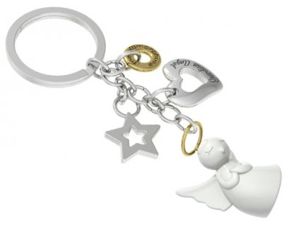 MTM klíčenka Anděl strážný pro štěstí a lásku 1