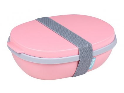 Mepal svačinový box ellipse duo nordic pink