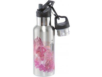 Carl Oscar nerezová termolahev Wisdom TEMPflask růžová 500 ml 1