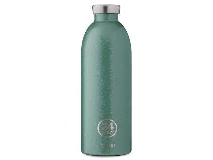 24Bottles - termolahev Clima Bottle Rustic Moss Green 850 ml 1