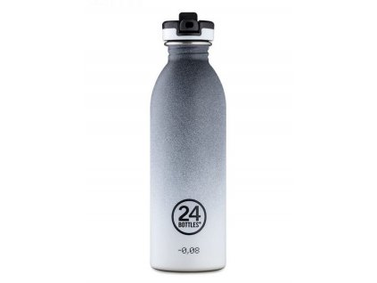 24Bottles - nerezová lahev Urban Bottle 500 ml Tempo Grey 1