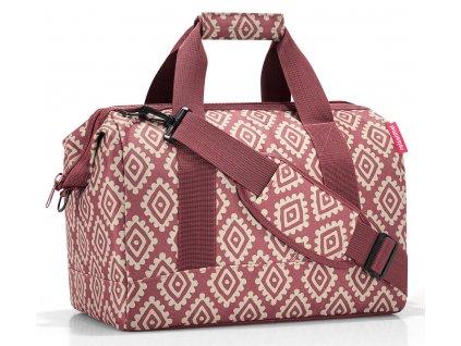 Reisenthel - cestovní taška Allrounder M diamonds rouge