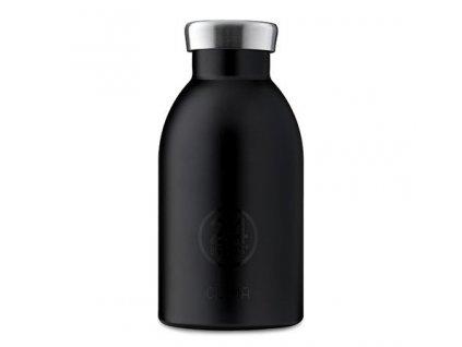 24Bottles - termolahev Clima Bottle Black 330 ml