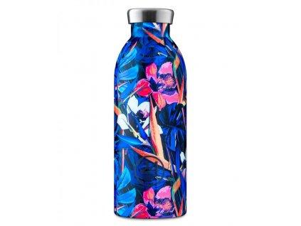24Bottles - termolahev Clima Bottle Floral Nightfly 0,5l