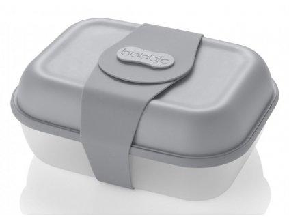 Bobble svačinový box grey