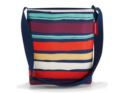 Reisenthel taška přes rameno Shoulderbag S artist stripes