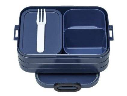 Mepal svačinový box Bento lunch box nordic denim