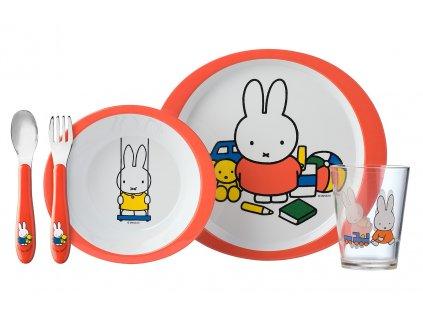 Mepal dětský jídelní set Miffy Plays