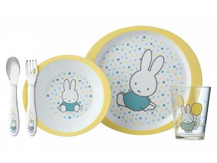 Mepal dětský jídelní set Miffy Confetti
