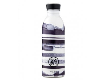 24Bottles - nerezová lahev na pití Urban Bottle 500 ml stripes -1