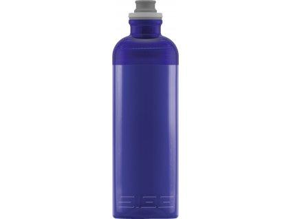 SIGG lahev na pití SEXY Blue 0,6l je vhodná k aktivnímu stylu života.