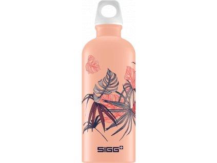 Lahev SIGG Lucid Florid Shy Pink 0,6l