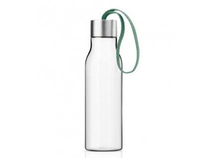 Eva Solo designová plastová láhev na pití se zeleným poutkem 500 ml