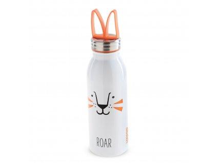 Vakuová láhev na vodu pro děti do školy Aladdin ZOO Lev o objemu 430 ml 1
