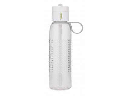 Sportovní lahev s počítadlem DOT ACTIVE 750 ml bílá
