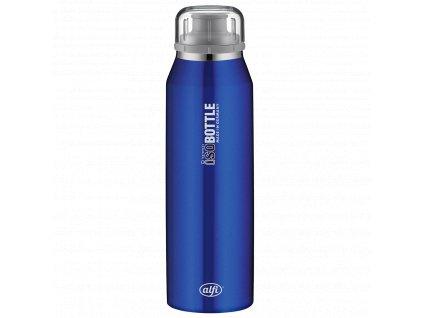 Alfi modrá nerezová termo láhev na studené i teplé pití