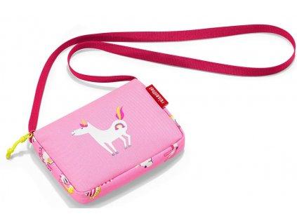 Reisenthel dětská taška přes rameno itbag kids abc friends pink 1