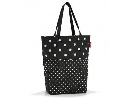 nákupní taška přes rameno s puntíky - 1