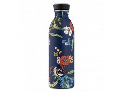 24Bottles - nerezová lahev Urban Bottle 500 ml Denim Bouquet