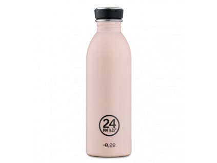 24Bottles - nerezová lahev Urban Bottle 500 ml Dusty Pink