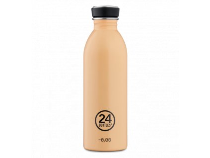 24Bottles - nerezová lahev Urban Bottle 500 ml Peach Orange