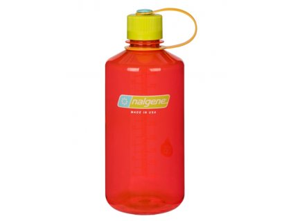 NALGENE - láhev na pití Narrow Mouth 1000 ml Pomegranate