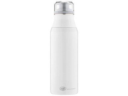 Kvalitní nerezová láhev na vodu Alfi new Pure white 900 ml 1