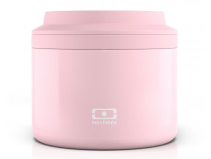 Růžová termoska na jídlo 1