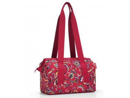 prostorná cestovní kabelka Allrounder S paisley ruby 1