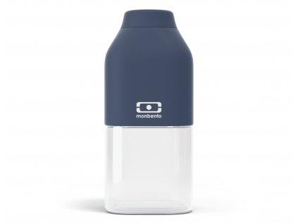 Plastová láhev na vodu Monbento Positive S blue Infinity 330 ml 1