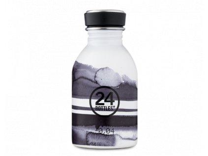 24Bottles designová nerezová láhev na vodu Urban Bottle 250 ml Stripes 1