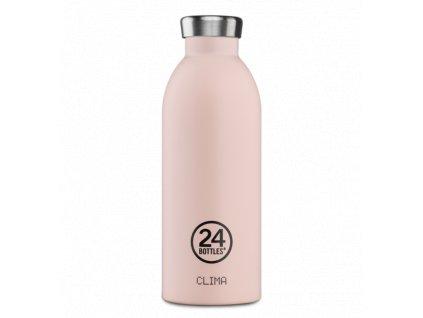 24Bottles termoláhev na studené i teplé nápoje Clima Bottle Dusty Pink o objemu 500 ml 1