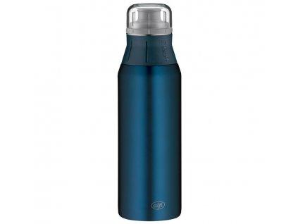 Alfi kvalitní nerezová láhev na pití v modré barvě