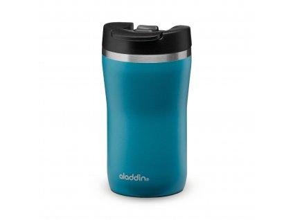 Aladdin nerezový termohrnek na kávu Café Leak-Lock 250 ml v petrolejové barvě 1