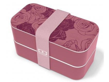 Monbento stylový Bento box na jídlo MB Original graphic Romantic 1
