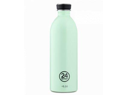 24Bottles designová nerezová láhev na vodu Urban Bottle 1000 ml aqua green 1