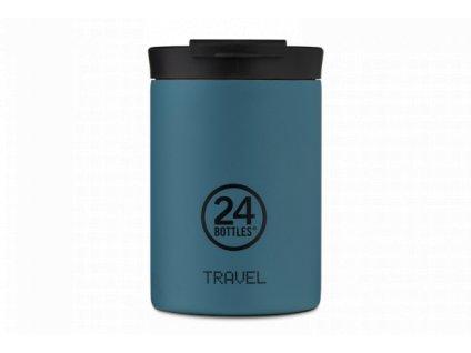 24Bottles nerezový termohrnek Travel Tumbler atlantic bay 350 ml