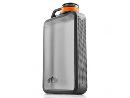 GSI butylka na alkohol Boulder Flask 295 ml šedá 1