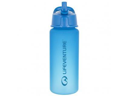 Lifeventure plastová láhev na vodu Flip-Top 750 ml modrá 1