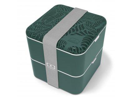 Monbento prostorný box na jídlo MB Square Jungle 1
