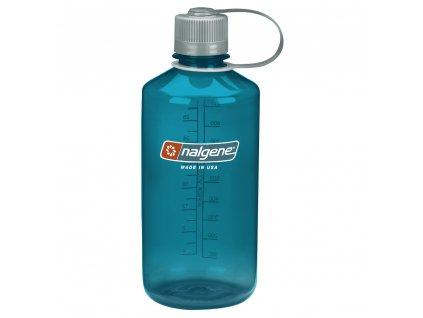 NALGENE odolná láhev na pití Narrow Mouth 1000 ml Trout Green 1