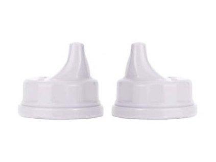 Lifefactory pítko dětské 2ks v bílé barvě 1