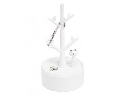 BALVI bílý stojánek na šperky s kočkou Kitty 1