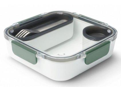 BLACK-BLUM box na jídlo v olivové barvě 1