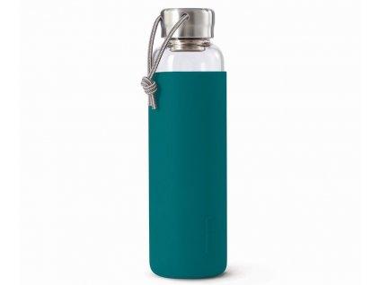BLACK-BLUM - skleněná láhev na vodu modrá 600 ml 1