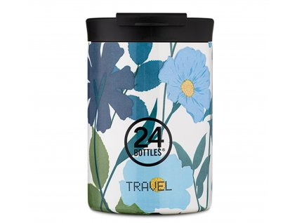 24Bottles nerezový termohrnek Travel Tumbler Morning Glory 350 ml 1